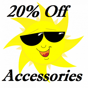 20% off Accessories at our Indoor Boat Sale