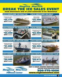 Regina Marine February 2019 Break The Ice Sales Event