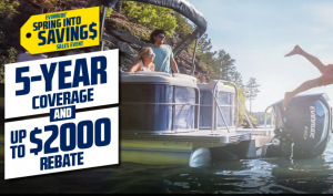 Evinrude's Spring into Savings Sales Event